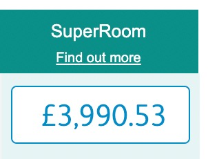 £3990.53 for Travelodge cost for 27 nights
